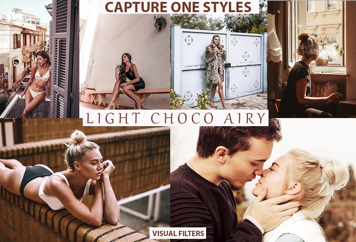 light choco airy capture one styles