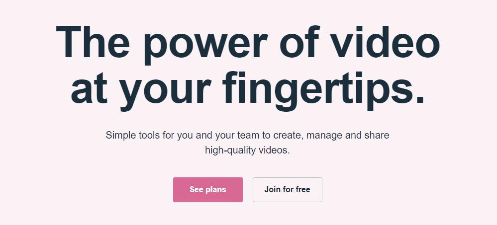 vimeo header