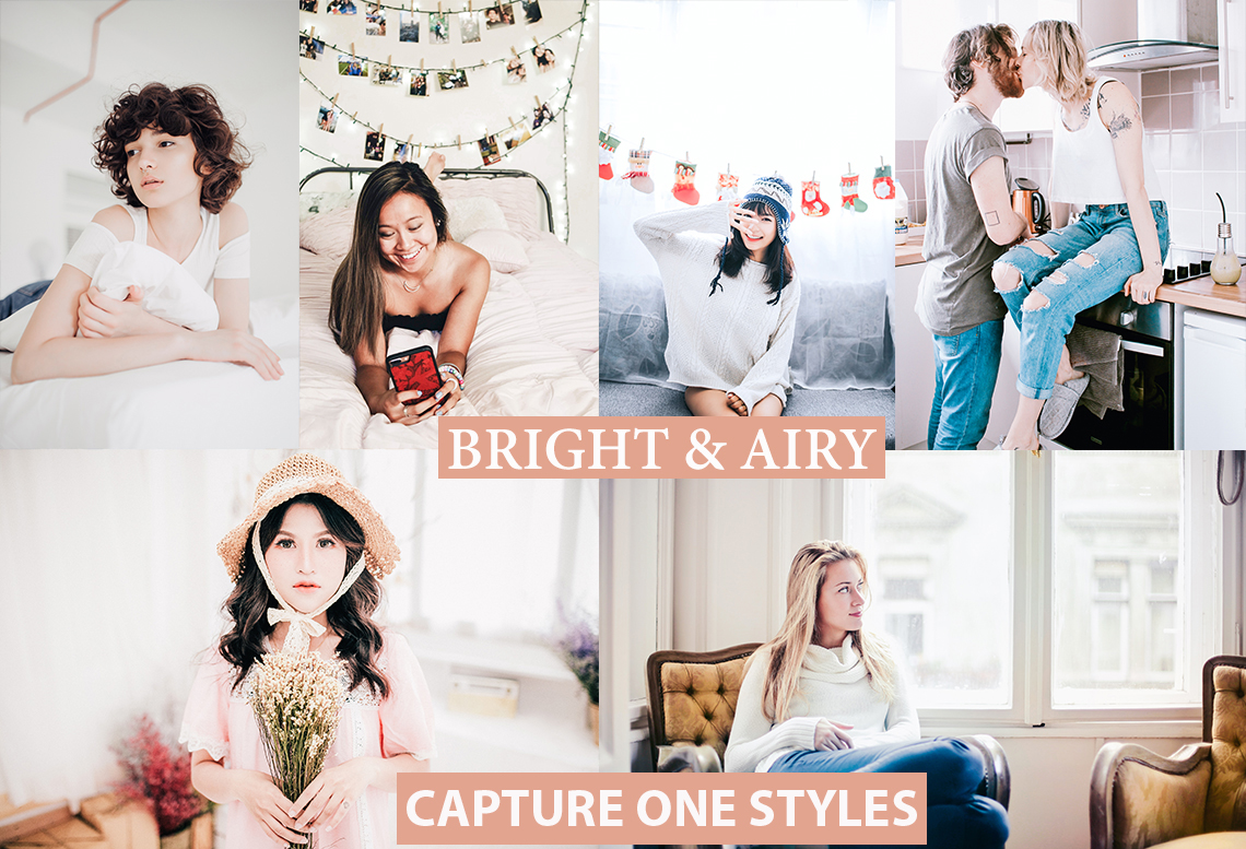 bright and airy capture one styles