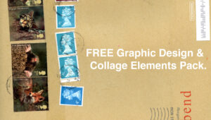 FREE Graphic Design and Collage Elements Pack - FilterGrade
