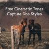 Free Cinematic Tones Capture One Styles
