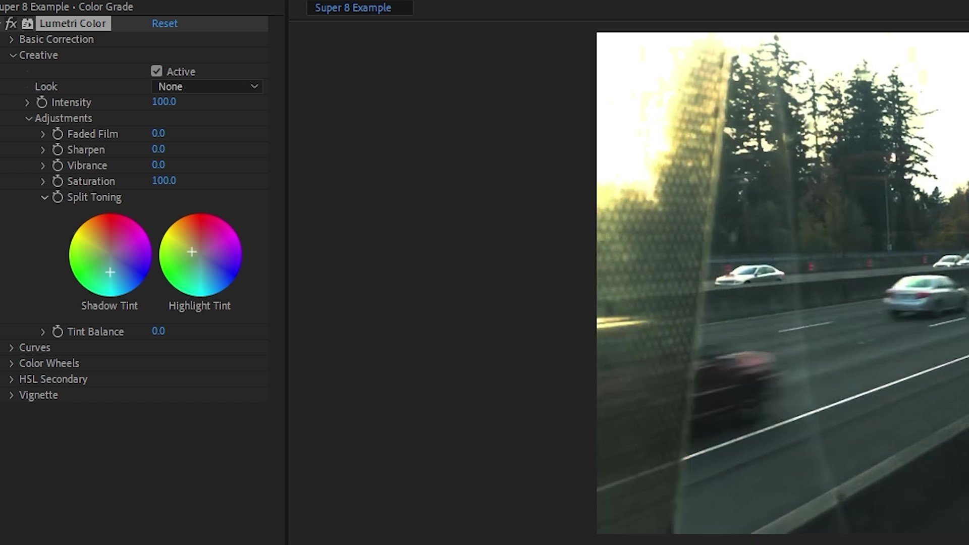 super 8 effect after effects