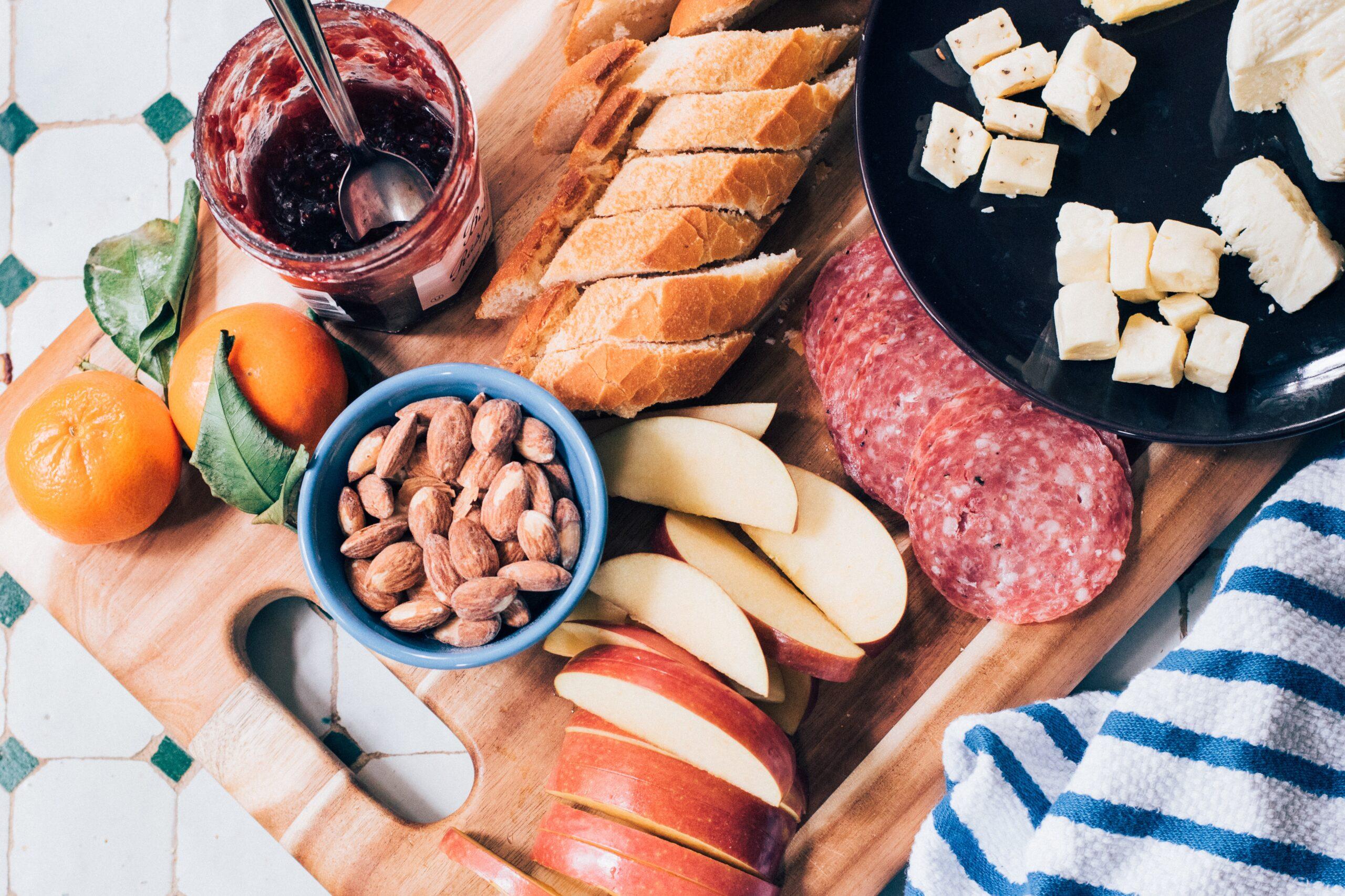 snacks board
