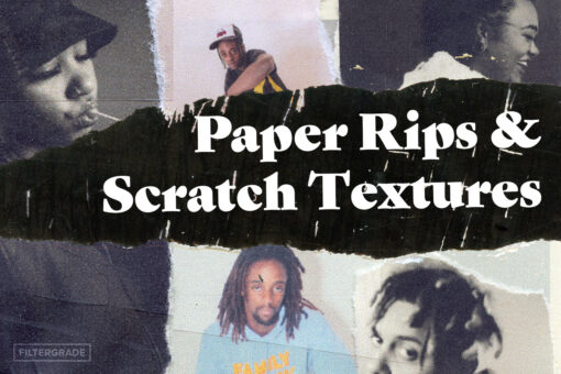 Paper Rips & Scratch Textures Pack - FilterGrade